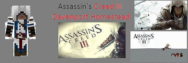 Davenport S Homestead From Assassin S Creed 3 Minecraft Map