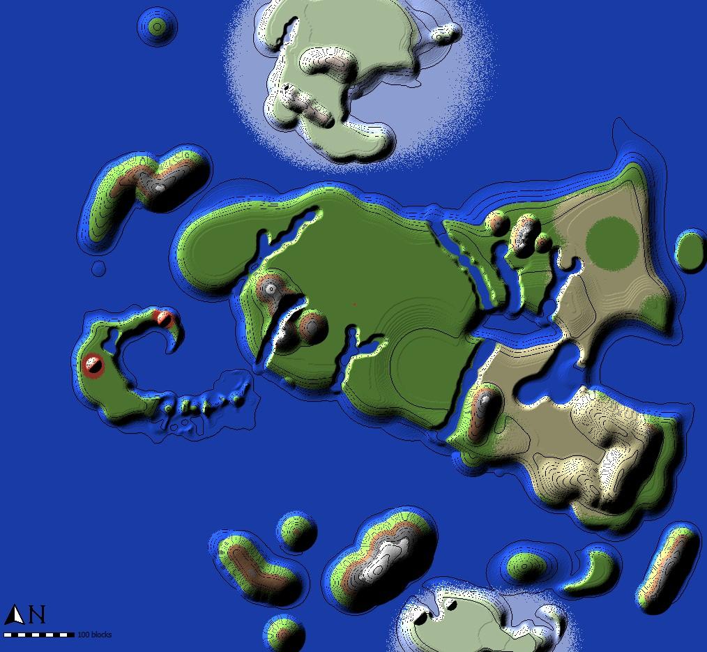 Avatar The Last Airbender Full Map Minecraft Blog - Avatar the last airbender us map