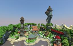 Big town finished. Minecraft Map & Project