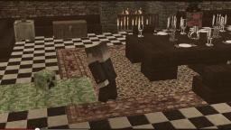 Creeper for One - a minecraft machinima of Dinner for One Minecraft Project