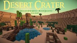 Desert Crater - Great for PvP arenas ! ★ Available for download ! Minecraft Project