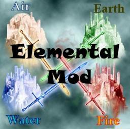 Elemental Mod [1.4.7]-Modloader Minecraft