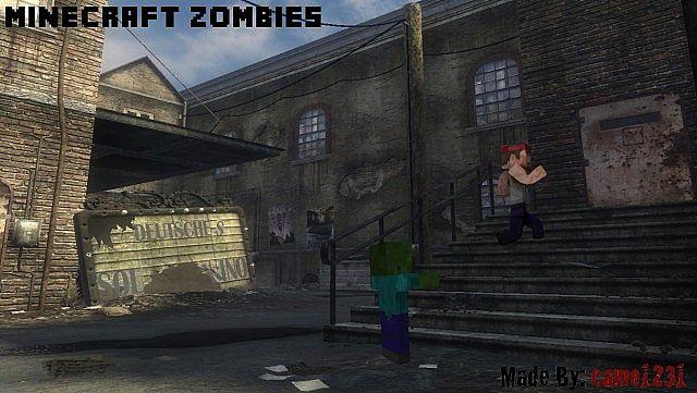 Minecraft Call of Duty Nazi Zombies Minecraft Project