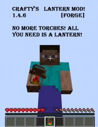 Lantern Mod 1.4.6 [Forge]  {SP} Minecraft