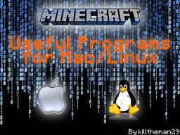 Useful Programs for Mac/Linux - Map Making Guide Minecraft Blog Post