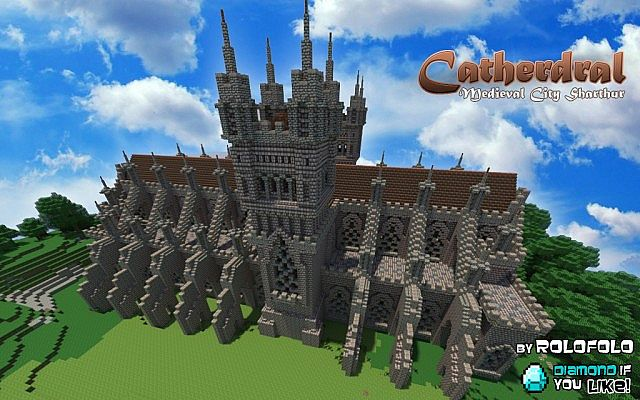 Medieval Cathedral At Sharthur City Angelblock App