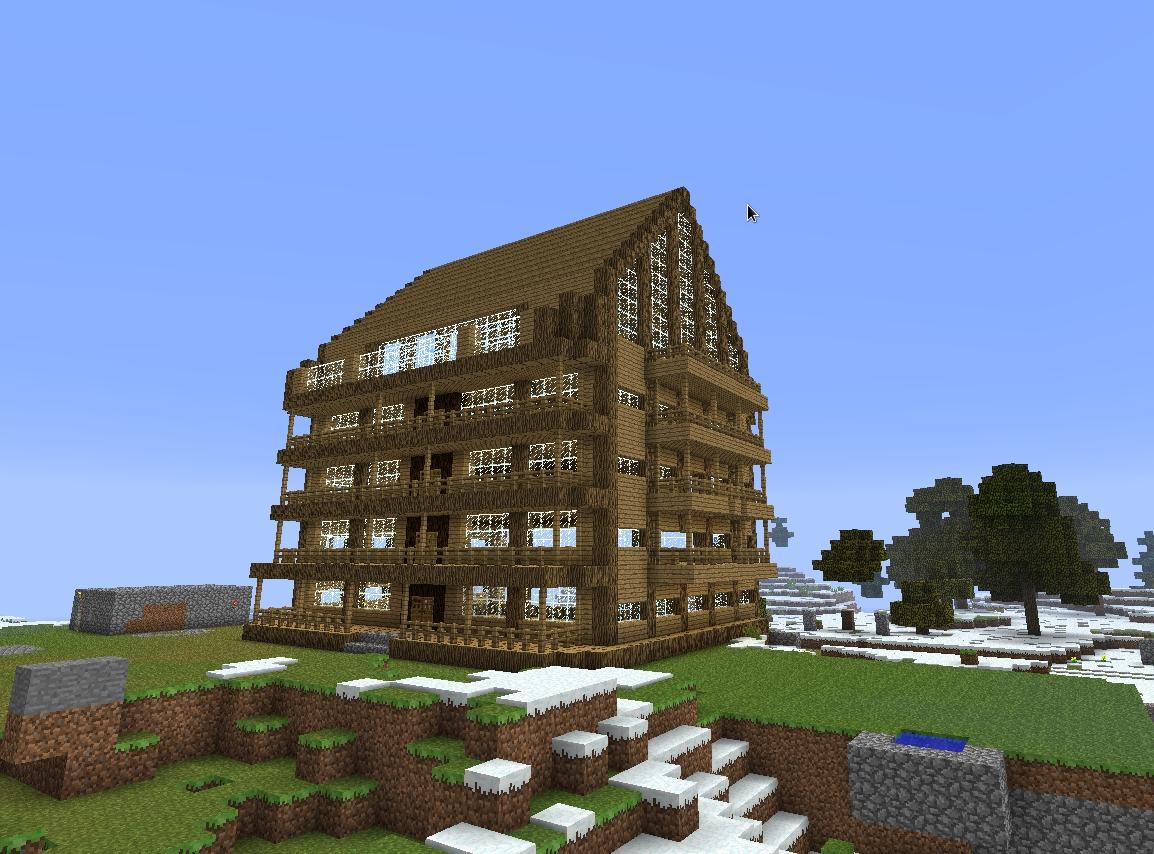 Minecraft Pe Seeds With Big Buildings