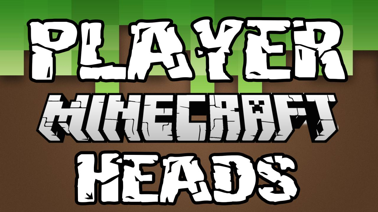 The Ultimate Player Head Database [MAP MAKING TOOL