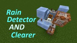 Rain Detector AND Clearer Minecraft
