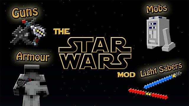 how to download minecraft star wars mod