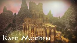 Kaer Morhen - Mountain Castle Minecraft Project