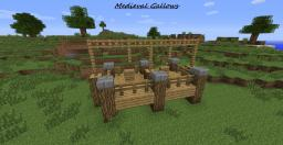 Simple Medieval Gallows Minecraft Map & Project