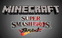 Super Smash Bros in Minecraft - PVP Map -1, 2 and 4 Players Minecraft Map & Project