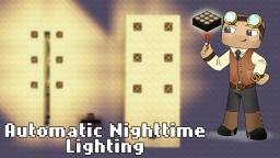 Automatic Nighttime Lighting (Daylight Detector) - Minecraft Snapshot 13w01b