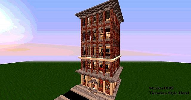 Victorian style hotel minecraft project for Style hotel