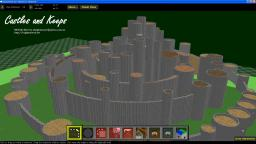 One-Click Castles and Keeps - MCEdit Filter to create an entire castle from your selection box. Minecraft Mod