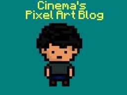 Cinema's Pixel Art Blog Minecraft Blog