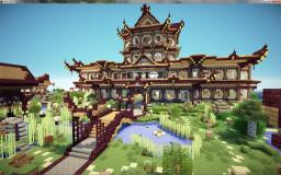 Asian palace Montondemadera Minecraft Map & Project