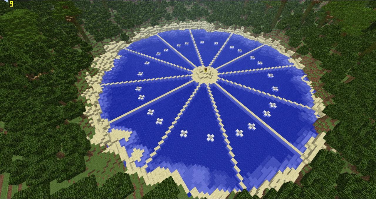 Quarter Quell Hunger Games Map! Minecraft Project