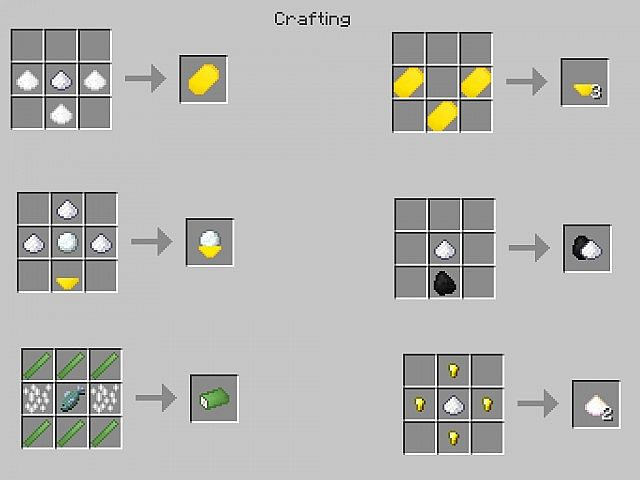 crafting 2 6900453 New Foods 2 Recipes