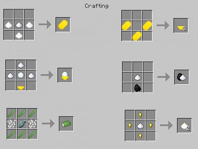 Minecraft Zelda Sword Skills Mod    Crafting Recipes