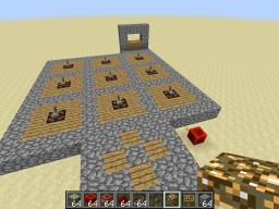 Easy, Expandable Redstone Door Tutorial Minecraft Map & Project