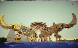Mechanic elephants Minecraft Map & Project