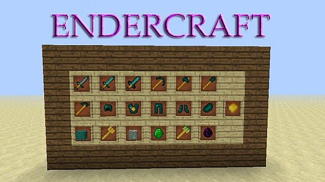 Everything that EnderCraft offers you!
