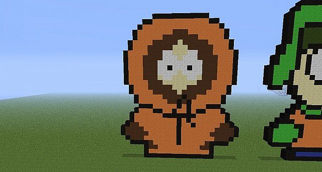 Kenny South Park Minecraft Map