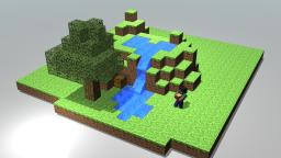 Very First Minecraft Blender Render Minecraft Blog Post