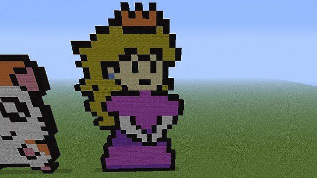Princess Peach Minecraft Project