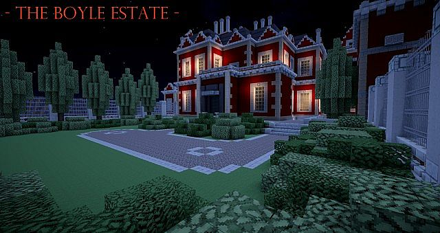 Boyle Estate Dishonored Minecraft Project