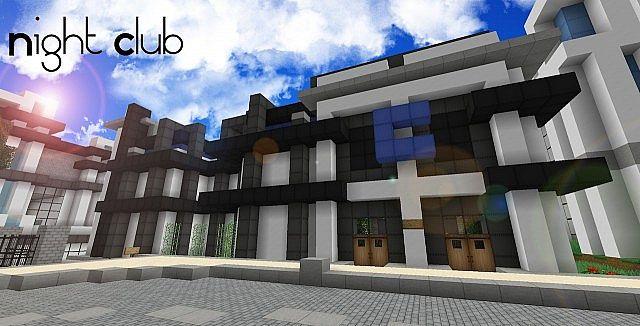 Fine Night Club Minecraft Project Download Free Architecture Designs Scobabritishbridgeorg