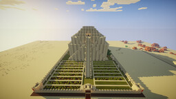 Desert temple of Harad Minecraft Map & Project