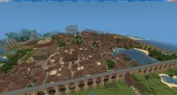 Tuscan Inspired City Minecraft Map & Project
