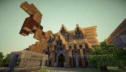 Medival TownHall Minecraft Project
