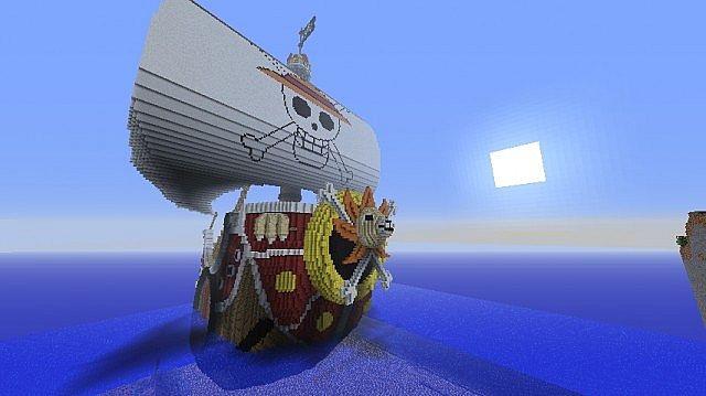 Карта для майнкрафт пиратский корабль