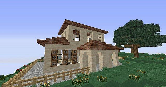 Italian Villa Minecraft Project