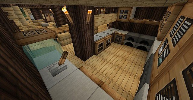 Modern Wood House Minecraft City Minecraft Project