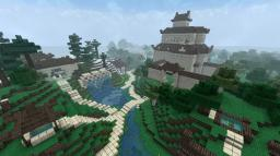 Chinese Avatar inspired village- with two downloadable tea houses! Minecraft Map & Project