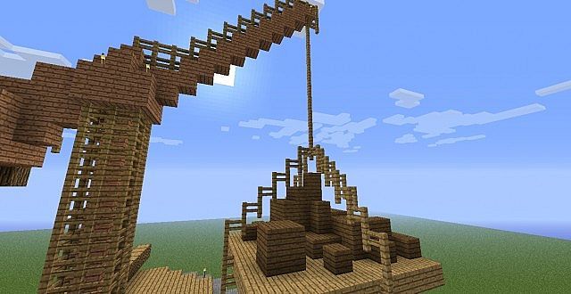 Medieval Cranes Bundle Minecraft Project
