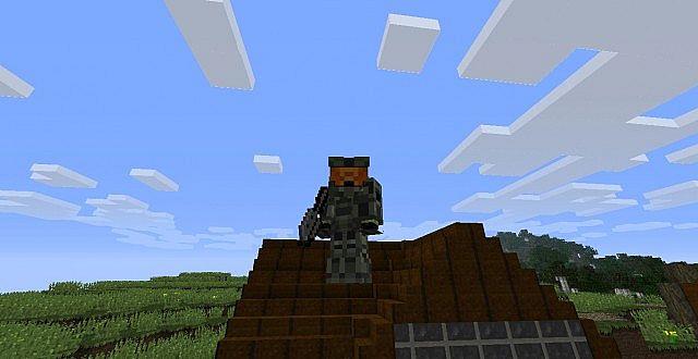 HellCraftJZs Master Chief skin- Diamond Armor