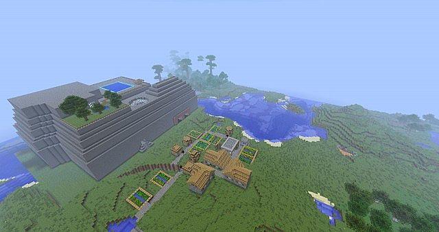 Redstone Mansion Minecraft Project