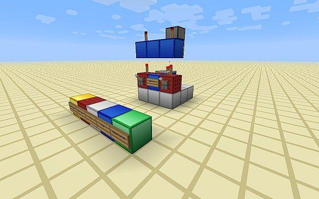 Xor Xnor Gate 3x3 Minecraft Project