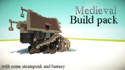 Medieval (Steampunk) Build Pack and some fantasy :D Minecraft Project