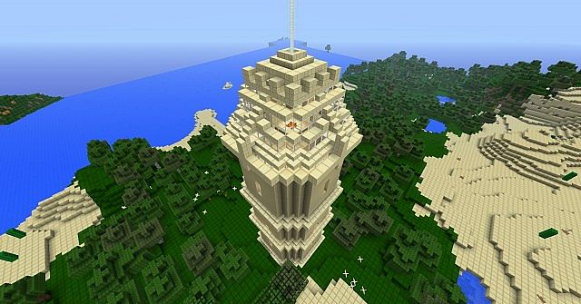 Power Tower Minecraft Project