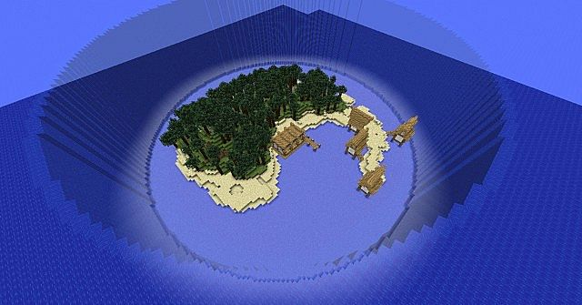 Trinity Island With Download Minecraft Project
