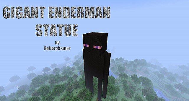 enderman statue 1820664 2 enderman statue 2 diamondsHow To Make An Enderman Statue
