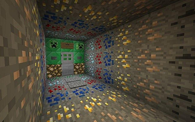 Ore Room, right before the final room...