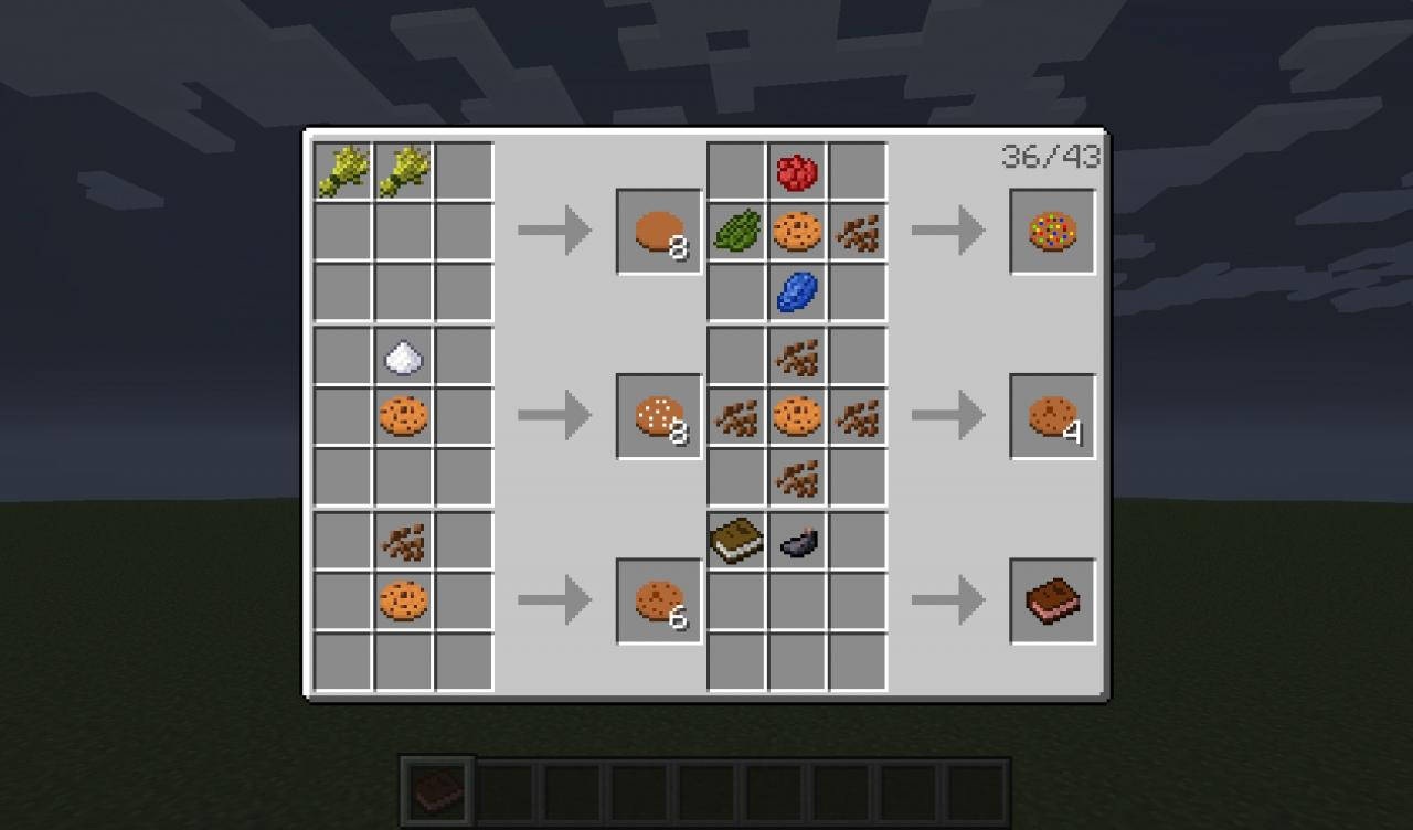 Minecraft Cookie Craften